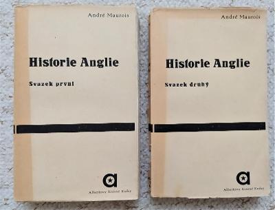 Historie Anglie I-II (André Maurois)