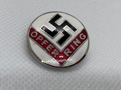 N.S.D.A.P odznáček (Opfer-Ring)