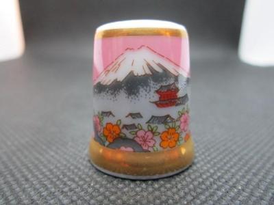 Sběratelský náprstek TCC Yamasan Japan, Mount Fuji 1986