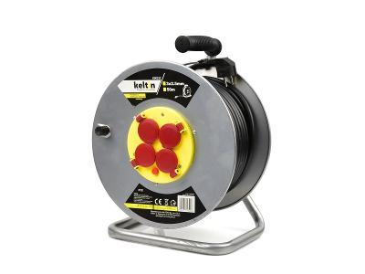 Prodlužovací kabel na bubnu prodlužovačka 3x2,5mm 50m K00233