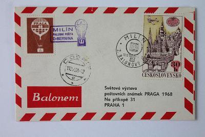 Československo , Milín , Palubní pošta  (4a/1)