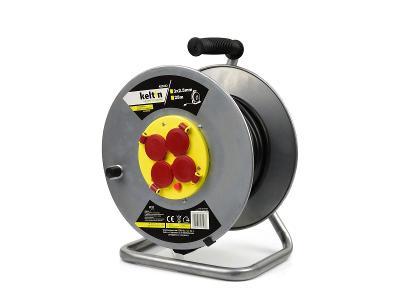 Prodlužovací kabel na bubnu prodlužovačka 3x2,5mm 25m K00232