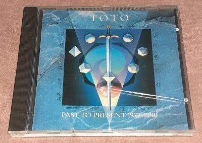 CD - Toto - Past To Present 1977-1990 (1990)