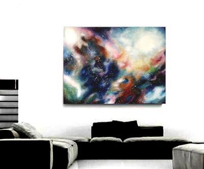Abstraktní obraz Galaxie #4