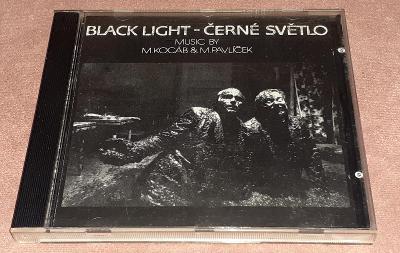 CD - M.Kocáb & M.Pavlíček - Black Light = Černé Světlo (1991)
