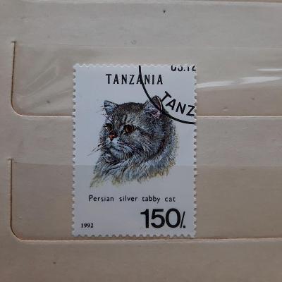 Tanzánie (1992) - kočka