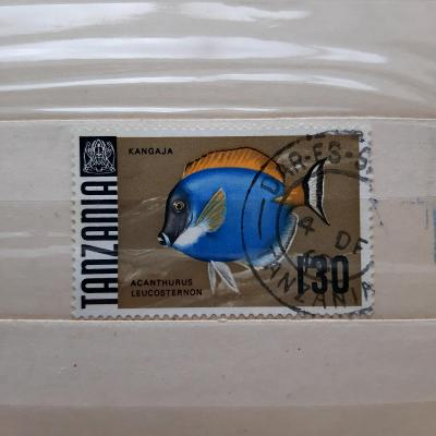 Tanzánie (1967) - ryba