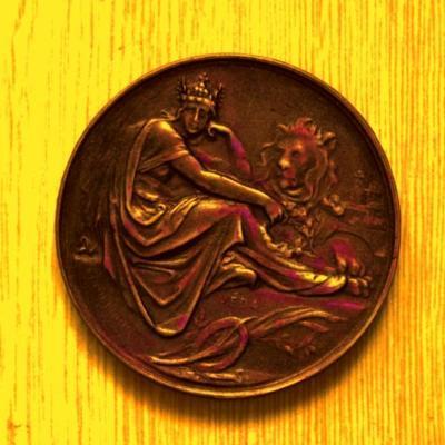 František Josef I. Velká Medaile za Vědu ,Království České , 65x5mm