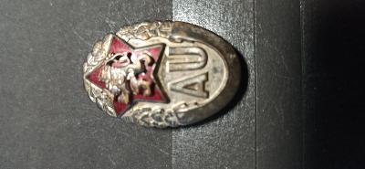 Odznak absolventa AU v Nitře č.2532