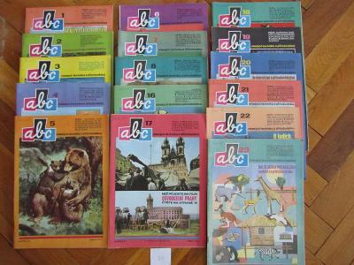 Staré časopisy ABC