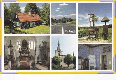 Český ráj-Libuň-okr.Jičín-kostel-interiér-stavení-panorama Trosky-VF