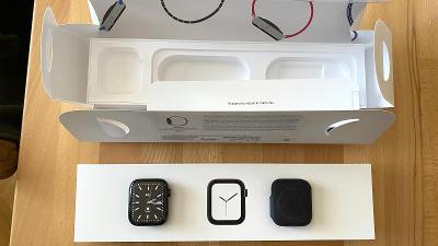 Apple Watch Series 4 Cellular 44mm grafitová/černá ocel, kompletní bal