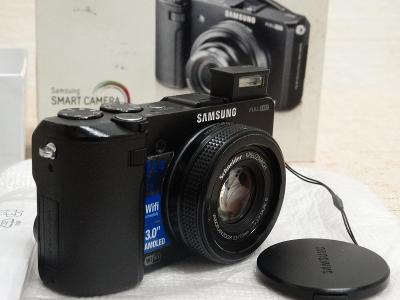 Fotoaparát digitální kompaktní - SAMSUNG EX2F ČERNÝ