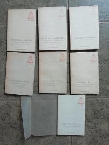 Duše východu - filozofie a poezie Orientu - 7 svazků. Symposion 1947-9