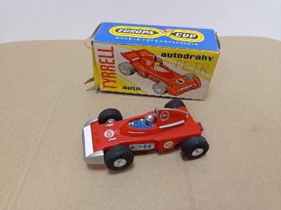 Ites autíčko Tyrell autodráha stará hračka