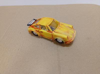 Ites autíčko Porsche 911 autodráha stará hračka