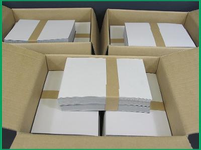 Karty A5 s fólií Leuchtturm Karton 1500 ks z LIKVIDACE SKLADU !!!
