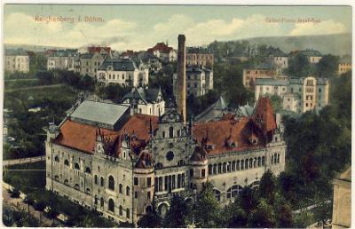 Reichenberg - Kaiser Franz Josef Bad // Liberec - lázně