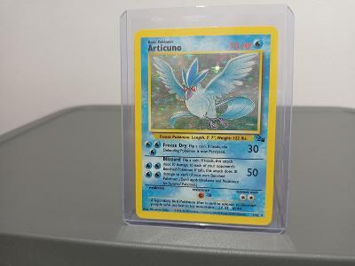Pokémon TCG ORIGINAL ARTICUNO Base 1999 FOSSIL