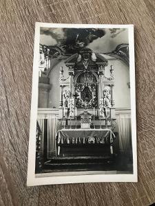 Pohled-Přelouč - oltář na sv.Poli