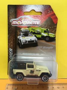 Jeep Wrangler - Majorette explorer 1/60 (H11-x)