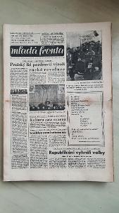 noviny Mladá fronta 1946