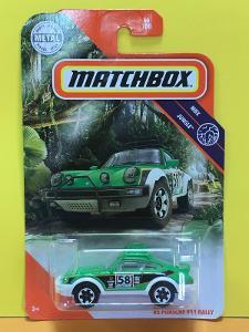 '85 Porsche 911 Rally  - Matchbox 66/100  (E2-x)