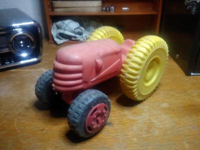 Traktor na písek