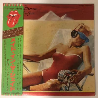 Rolling Stones – Made In The Shade - LP vinyl Japan - aukce od 1,- Kč