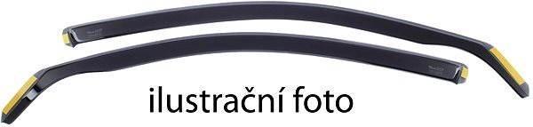 Ofuky oken HEKO ofuky Škoda Rapid 13- liftback/spaceback