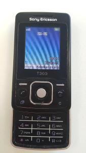 # Mobilní telefon Sony Ericsson T303 s originální krabičkou - A040