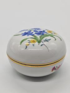 Míšeň, Meissen porcelánová dóza