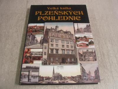 r3580k * velká kniha plzeňských pohlednic