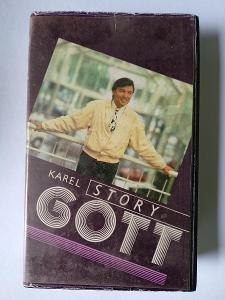 VHS - Karel Gott Story - Rarita