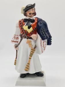 Velká porcelánová socha, figurka Herend