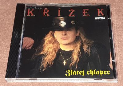 CD - Ladislav Křížek - Zlatej chlapec (1991) / (Stav-Mint)