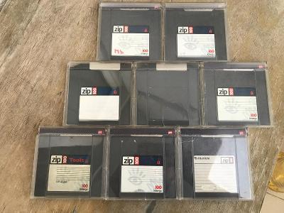 ZIP diskety 100 iomega - 7ks