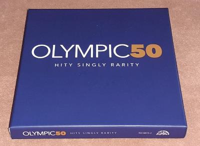 CD - Olympic - 50 - Hity Singly Rarity (5xCD) (2012) / (Stav-Mint)