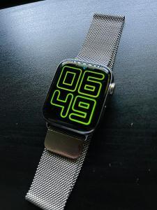 Apple Watch Series 4 44mm Cellular Stříbrný nerez