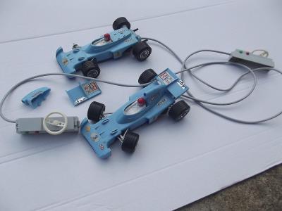 Staré autíčka Formule Ites na bovden 1 + 1