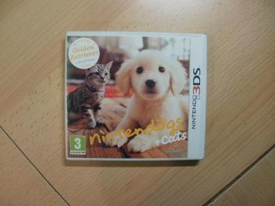 Hra na Nintendo 3DS + 2DS - Nintendogs + Cats - Golden Retriever