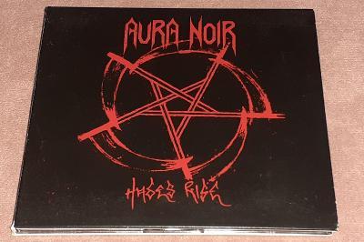 CD - Aura Noir - Hades Rise (2008) / (Stav-NM)