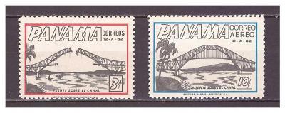 "Panama 1962 kompletní série ""Thatcher-Ferry Bridge Opening"""