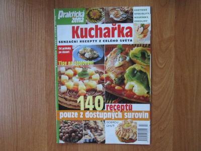 Praktická žena - Kuchařka - 140 receptů  ...  52 stran