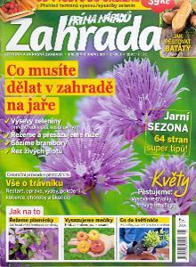 ZAHRADA NA JAŘE časopis