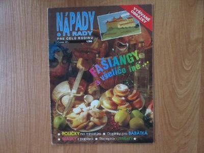 Nápady a rady - vyšívané obrázky - šití - pletení ... 32 stran
