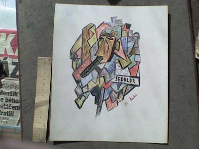 GRAFIKA - 110  NA TÉMA PICASSO práce z Akademie