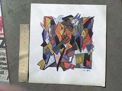 GRAFIKA - 112  NA TÉMA PICASSO práce z Akademie