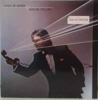 LP Chris De Burgh - Man On The Line, 1984 EX