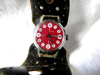 Staré hodinky PRIM BERUŠKY - jdou.